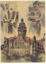 All. Besetzung Sonderkarte ERSTE LEIPZIGER FRIEDENSMESSE 1947 (44207)
