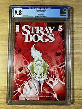 Stray Dogs #5 (2021 Image Comics) 2nd Print CGC 9.8