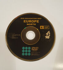 2017/18 TOYOTA & LEXUS SAT NAV DVD DISC MAP UPDATE NORTH EUROPE VER.1