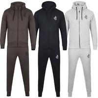NEW MENS SLIM FIT TRACKSUIT SET GY3 FLEECE HOODIE JOGGING BOTTOMS JOGGERS SKINNY