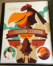 MONDO Tom Whalen FOGHORN LEGHORN Variant Looney Tunes Poster Print