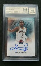KYRIE IRVING 2012-13 PANINI PAST & PRESENT ROOKIE AUTOGRAPH RC! BGS 9.5/10 AUTO!