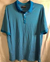 Callaway Golf Men's Opti-Dri Size Large Blue Polo Shirt Excellent Condition