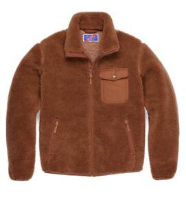 New! Best Made Company Co Men's Wool Fleece Jacket Caramel. Sz S. made In Canada