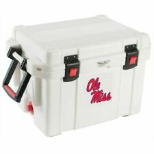 Pelican (Ole Miss Rebels) 45 Quart White Cooler