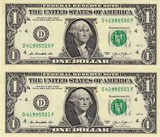 $1 2013 2 D/F BLOCK (fw) CLEVELAND  CON. CU