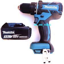 Makita 18V XFD06 Cordless Brushless Drill Driver, 1) BL1850B 5.0 Battery 18 Volt