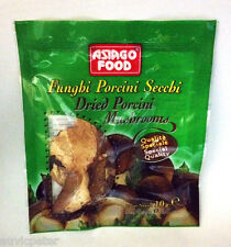 Asiago Food Funghi Porcini Secchi, Dried Porcini Mushrooms, Boletus Edulis Italy