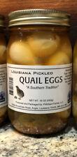 2 Jars Of Louisiana Best Pickled Quail Eggs