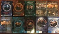 STARGATE SG-1 COMPLETE SERIES 1-10 FREE SHIPPING Collectors Item SAVE ON POSTAGE