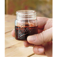 1 PC Shot Glass Mini Mason 3 Oz Jar Mug Drinking Moonshine Whiskey Party Shooter