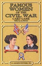Famous Women Of The Civil War Card Game Playing Cards New