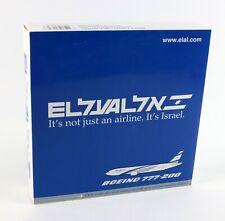 """NEW - Gemini Jets """" ISRAEL EL AL BOEING 777-200 """" Diecast 1:400 Airplane Model"""