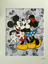 Disney - Classic Mickey & Minnie Mouse - Hand Drawn & Hand Painted Cel