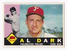 AL DARK 1960 Topps Baseball # 472 Philadelphia Phillies Ex Plus