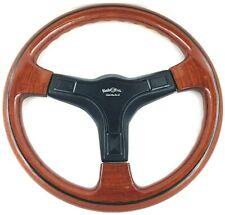 Genuine Italvolanti Admiral wood rim 365mm steering wheel. Very rare!  NOS.  7E