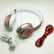 Original Beats by Dr Dre Solo3 Wireless bluetooth Headphones earphones ROSE GOLD