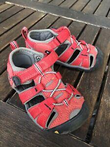 Keen Sandalen 23 Schuhe Baby Rot Sommer Kinder Kinderschuhe Kindersandalen