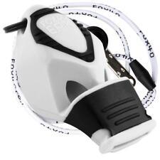 Fox 40 EPIK CMG Whistle Rescue Safety Referee Alert WHITE W/ LANYARD BEST VALUE!