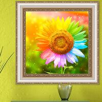Sunflower DIY 5D Diamond Painting Embroidery Cross Stitch Kit Home Decor Art