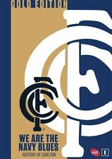 AFL: We are the Navy Blues - History of Carlton (Gold Edition) * NEW DVD *