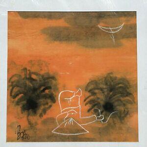 Countryside  Vietnam orig paper painting Nguyen Lien