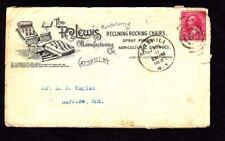 Postal History US: 1895 Advert Cover