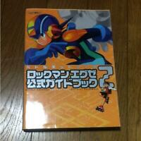 Battle Network Rockman EXE 2 Official Guide Book  Game Mega Man