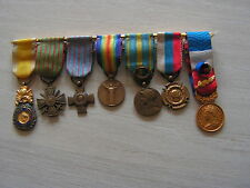 belle portee  medailles  reduction  serbe  interalliee  valeur bi face