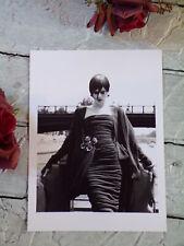 CHANEL PHOTO DE MODE - TIRAGE ARGENTIQUE ORIGINALE 1992 - PAR KARL LAGERFELD