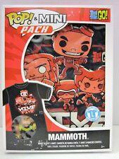 Pop! & Mini Pack Teen Titans Go! Mammoth T-shirt Adult Large New