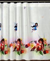 Luxury Disney TINKERBEEL Net Curtain Slot Top 75cm x150cm