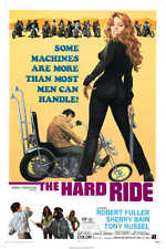 1971 THE HARD RIDE VINTAGE MOTORCYCLE MOVIE POSTER PRINT 36x24 9 MIL PAPER