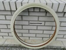 OLD BIKE VINTAGE FRENCH WHEEL WOLBER SOISSONS 600/HALF- BALL WITE