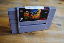 Jeu DESERT STRIKE pour Super Nintendo version NTSC (US)