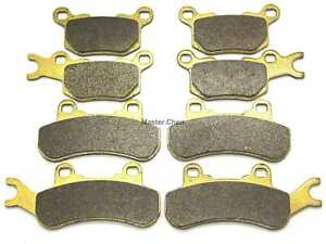 MC Front Rear Brake Pads For Can-Am Defender HD10 4x4 XT DPS XTP XMR 2018 2019