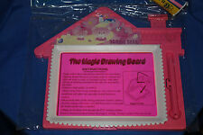 LOT OF 2 FLUORESCENT DRAWING BOARD ERASABLE NO INK KID SAFE HOURS OF FUN PINK