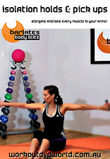 Barre Toning EXERCISE DVD - Barlates Body Blitz - ISOLATION HOLDS & PICK UPS!