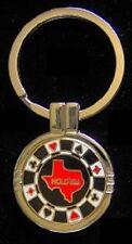 TEXAS HOLD'EM - CUSTOM KEY RING (Free Engraving)