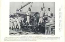 1897 barco Marina Imperial Otomano elevación pistola Taladro mmahmoudieh selamlik
