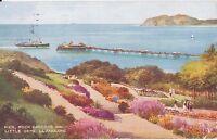 ferry approaching pier at Llandudno 1951