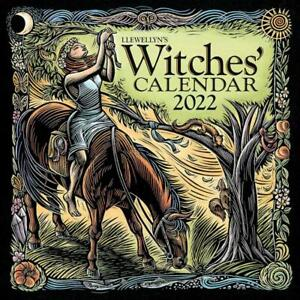 Llewellyn's 2022 Witches' Wall Calendar!