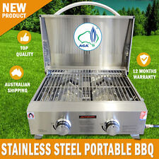 NEW Euro-Grand MARINE BBQ Portable Boat Gas Barbeque Stainless Steel Caravan RV