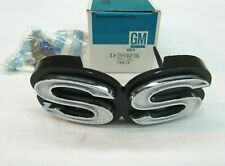 * Nos 1971 Chevy Chevelle Ss El Camino Front Grill Name Script Emblem Gm 3991036