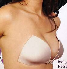 ADHESIVE STRAPLESS  BRA BACKLESS REUSABLE NEW 2019: NUDE B