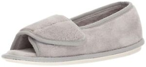 DANIEL GREEN WOMEN'S TARA II SLIPPER GRAY 9 M US