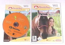 """NINTENDO WII SPIEL"""" PFERD & PONY MEIN GESTÜT Ein Leben für die Pferde """" KOMPLETT"""