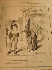 Typo 1886 - Bateau Express Mettre une couronne à la place d'une bouée