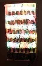 CHRISTMAS VTG 80's TREE EUROPEAN 2-WAY FLASHING LIGHTS x 35 INDOOR SET BOXED