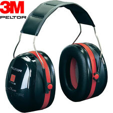 3M PELTOR OPTIME III 3 EAR DEFENDERS PROTECTORS COMFORT FIT PADDING